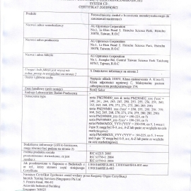 Certificate_IEC_BenQ_SG_ITS-6607_V1_PL_PL_1